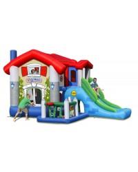Dvorac na napuhavanje Trampolin - NOVO, sva oprema