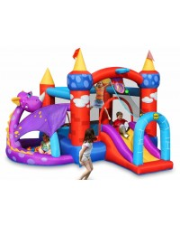 Dvorac na napuhavanje Trampolin -  Sva oprema