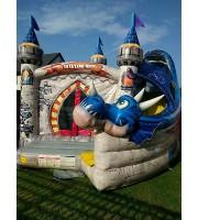 Dvorac na napuhavanje Trampolin - KOMERCIJALNI - Sva oprema