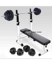 Bench klupa sa utezima ( 90 kg utega )