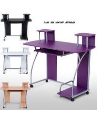 Radni stol za PC - Kompjutor, atraktivan, 4 boje