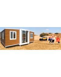 Vrtna stupna svjetiljka 230 cm sa 2 ili 3 Lanterne