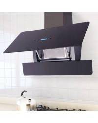 Kuhinjska napa - Nehrđajući čelik, Kaljeno staklo- LCD zaslon na dodir - CRNA ili BIJELA
