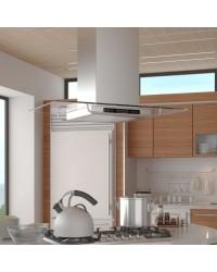 Kuhinjska napa - Nehrđajući čelik, LCD display - Otočna kuhinjska napa